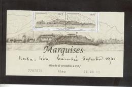 AN - Polynésie Française -PO973/974 **MNH De 2011paire Se Tenant -MARQUISE (NOUKA HIVA)Passage De COOK 7 Avril 1774 - Polynésie Française