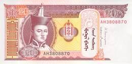 20 Tugrik Mongolei 2013 UNC - Mongolei