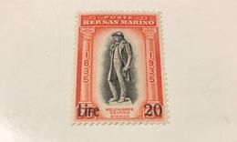 20 Lires Surcharge 1942 - San Marino
