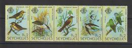 Seychelles 1979 Oiseaux Série 409-13 5 Val ** MNH - Seychelles (1976-...)
