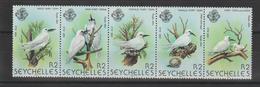 Seychelles 1981 Oiseaux Série 470-74 5 Val ** MNH - Seychelles (1976-...)
