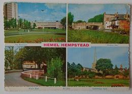 HEMEL HEMPSTEAD - Hertfordshire - Multiview - Marlowes, Fishery Inn, Water End, Gadebridge Park - Vg - Hertfordshire