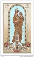 Image Pieuse Prière à Notre Dame De Sion - Santini