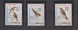 Somalie 1980 Oiseaux Série 255-57 3 Val ** MNH - Somalie (1960-...)