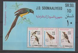 Somalie 1980 Oiseaux BF 9 ** MNH - Somalie (1960-...)