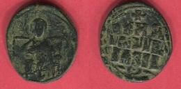 ANONYME   ( S 1836) FOLLIS   TB 15 - Byzantine