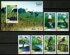 Cuba 2011 / Birds MNH Vögel Aves Oiseaux  / Cu13138  18 - Pájaros
