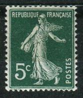 "FRANCE ( POSTE ) : Y&T  N° 137  TIMBRE  NEUF  "" RECTO  VERSO ""  SANS  TRACE  DE  CHARNIERE . - Abarten Und Kuriositäten"