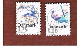 DANIMARCA (DENMARK)  -   SG 1067.1069  -  1996 SPORTS     - USED ° - Usati