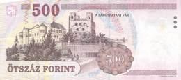 500 Forint Ungarn 2008 AU/EF (II) - Hungary