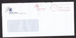 Slovenia: Cover, 1998, Meter Cancel, Book Logo (roughly Opened) - Slovenië