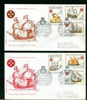 SMOM - FDC 1968 - NAVI ANTICHE POSSEDUTE DALL'ORDINE - Sovrano Militare Ordine Di Malta