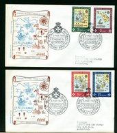 SMOM - FDC 1968 - SEDI DELL'ORDINE - Sovrano Militare Ordine Di Malta
