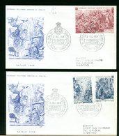 SMOM - FDC 1968 -  NATALE - Sovrano Militare Ordine Di Malta