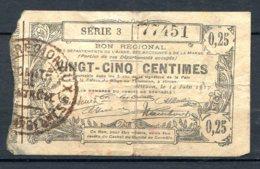 454-Hirson Billet De 1 Franc 1915 3e émission - Bonds & Basic Needs