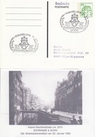 PP 104/136  Herrn Gerd Stahl Rüblinnghauser Str. 22 5690 Olpe Biggesee, Hamburg 1 - Privatpostkarten - Gebraucht