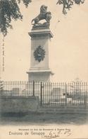 CPA - Belgique - Genappe - Monument Du Duo De Brunswick à Quatre Bras - Genappe