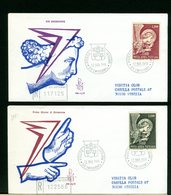 VATICANO - FDC VENETIA  1968  -  POSTA AEREA   ARCANGELO - FDC