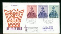 VATICANO - FDC VENETIA  1968  -  NATALE - FDC