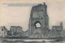 CPA - Belgique - Ieper - Ypres - La Cathédrale St-Martin - Ieper