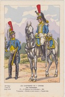 Uniformes Du 1er Empire Trompette Du 14eme  Régiment ( Tirage 400 Ex ) - Uniformen