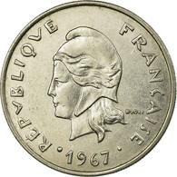 Monnaie, French Polynesia, 20 Francs, 1967, Paris, TTB, Nickel, KM:6 - Polynésie Française