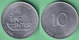 1988-MN-125 CUBA 1988 10c INTUR ALUMINIO. - Cuba