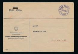Schweiz-Militär-Feldpost Beleg ..... ( Oo8581  ) -siehe Scan - Svizzera