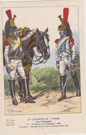 Uniformes Du 1er Empire Cuirassiers Du 14eme Régiment - Uniformen