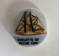 FEVE PRIME 1993 VOILIER GOELETTE DE PECHE 1900 BATEAU - BD