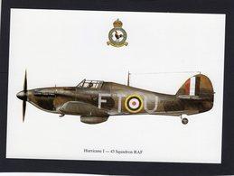Hurricane I  -  43 Squadron RAF  -  CPM - 1939-1945: 2ème Guerre