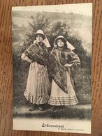CPA, Série Les Ardennaises,éd E.Denaix, Bruxelles, écrite En 1912, Timbre - Colecciones Completas