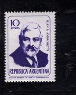 780394748 1966 SCOTT 805 POSTFRIS  MINT NEVER HINGED EINWANDFREI  (XX) - PORTRAITS JUAN B AMBROSETTI - Unused Stamps