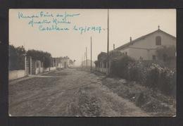 CPA Photo . CASABLANCA . Rue Du Point Du Jour 1 . - Casablanca
