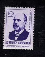 780395456 1966 SCOTT 807 POSTFRIS  MINT NEVER HINGED EINWANDFREI  (XX) - PORTRAITS FRANCISO P MORENO - Unused Stamps