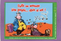 Voila Un Message Bien Frappé ... Clair Et Net !  ACHILLE TALON Illustrateur : GREG HUMOUR - Bandes Dessinées