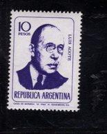 780395996 1966 SCOTT 804 POSTFRIS  MINT NEVER HINGED EINWANDFREI  (XX) - PORTRAITS LUIS AGOTE - Unused Stamps