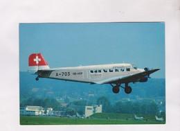 CPM JU AIR, JUNKERS JU 52/3M64E(HB HOP)DUBENDORF (suisse) - 1946-....: Era Moderna