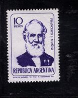 780396614 1966 SCOTT 808 POSTFRIS  MINT NEVER HINGED EINWANDFREI  (XX) - PORTRAITS FRANCISO J MUNIZ - Unused Stamps