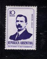 780397400 1966 SCOTT 806 POSTFRIS  MINT NEVER HINGED EINWANDFREI  (XX) - PORTRAITS MIGUEL LILLO - Unused Stamps