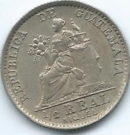 Guatemala - 1901 -½ Real - KM176 - Guatemala