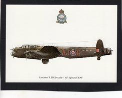 Lancaster B.III (Special)  -  617 Squadron RAF  -  CPM - 1939-1945: 2ème Guerre