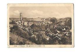 FRIBOURG Vue Généale Et La Basse Ville - FR Fribourg