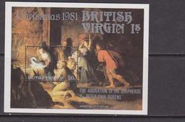 British Virgin 1981 Natale Christmas Set MNH - Natale