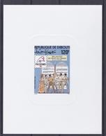 DJIBOUTI  :   Epreuve De Luxe Bicentenaire Révolution Française Neuf Philex 89 - Franz. Revolution