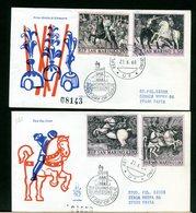SAN MARINO - FDC VENETIA  1968 -  PAOLO UCCELLO     Con Timbro Di Arrivo - FDC