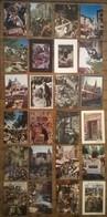 Lot De 24 Cartes Postales / Marché Foires & Foirail /a - Markets