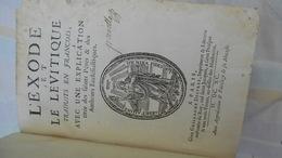 Tome Deux De La Bible En François 1690. - Before 18th Century