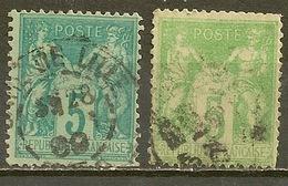 YVERT - N° 75 Et Ou 75 Ou 64 ? - 1876-1878 Sage (Type I)