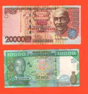 10000 + 20000 Franchi Guinea Repubblica Francs Guinèens - Guinea